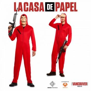 DISFRAZ DE LADRON CASA DE PAPEL