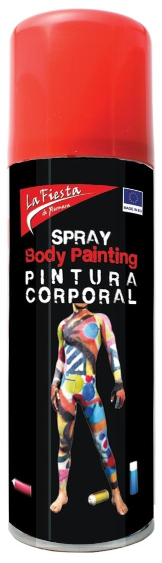 SPRAY ROJO PIEL BODY PAINT 200ML