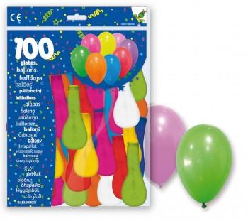 GLOBOS 100 BOLSA*1 R.9D MIX 900