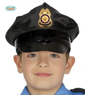 G13713 GORRA POLICIA INFANTIL