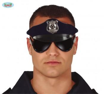 G17951 GAFAS POLICIA CON GORRO