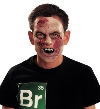 200367 1/2 Zombie Latex Mask