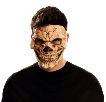202348 1/2 Skull Latex Mask