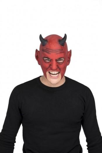 205718 Open Devil Latex Mask