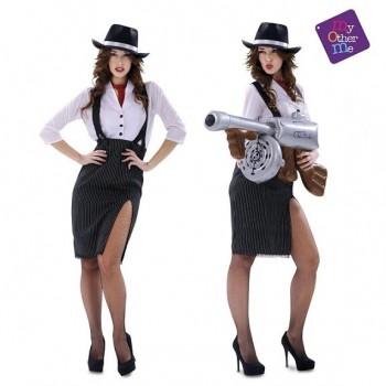 DISFRAZ DE Gangster Lady